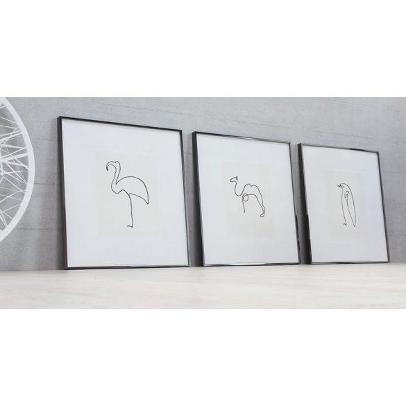 Alpha csiszolt borostyán képkeret 30 x 40 cm