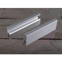 Standard képakasztó sín matt ezüst - 3 m