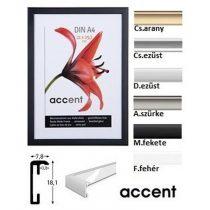 Accent képkeret 10 x 15 cm acélszürke