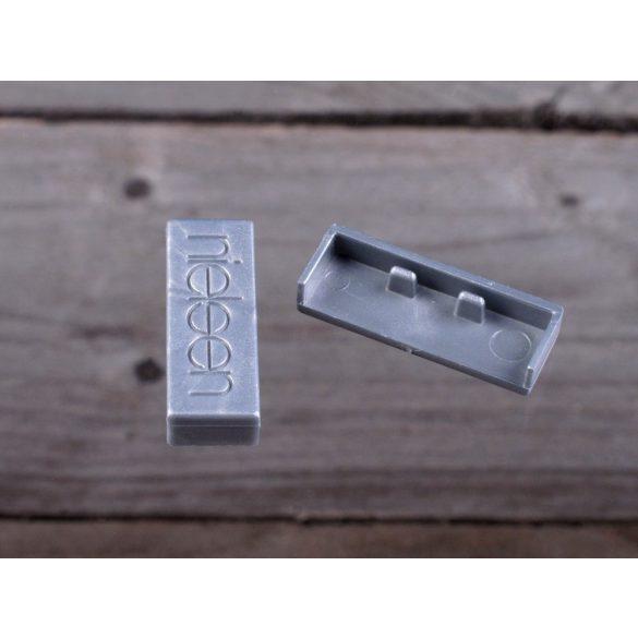 Standard sínzáró fedél - ezüst (darabos kiszerelés)
