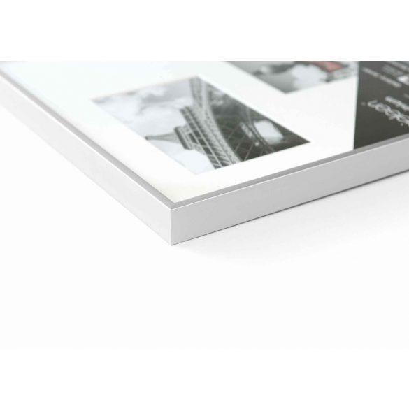 Gallery Junior 25x60 matt ezüst 4x10x15 ablakos