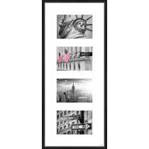 Gallery Junior 25x60 matt fekete 4x10x15 ablakos