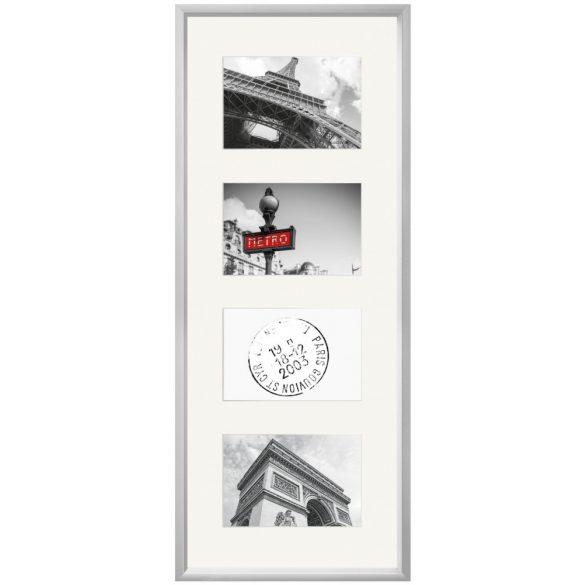 Gallery Junior 30x74 matt ezüst 4x13x18 ablakos
