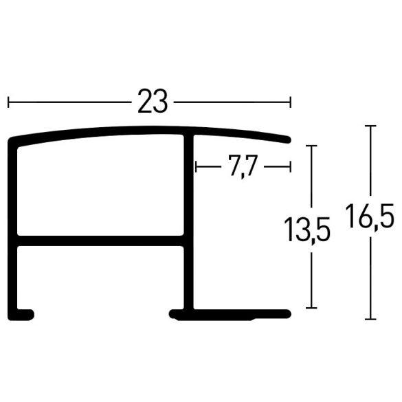 62256 Matt acélszürke