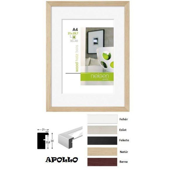 Apollo képkeret 30*40 ezüst