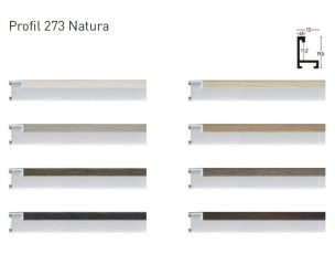 Nielsen 273 Natura alumínium képkeret profil